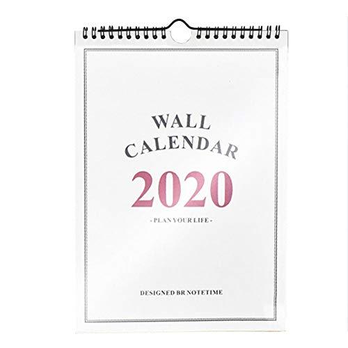 dewdropy 2019-2020 Home planner wandkalender vrijstaande tafelkalender voor de familieplanner voor het schooljaar