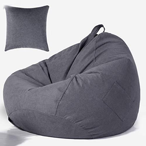 Wsaman Weich gepolsterter, abnehmbarer, wandelbarer Wassertropfen-Gaming-Stuhl, tragbares Sofa mit EPS-Teilchenfüller Griff für Erwachsene und Kinder, 2, L