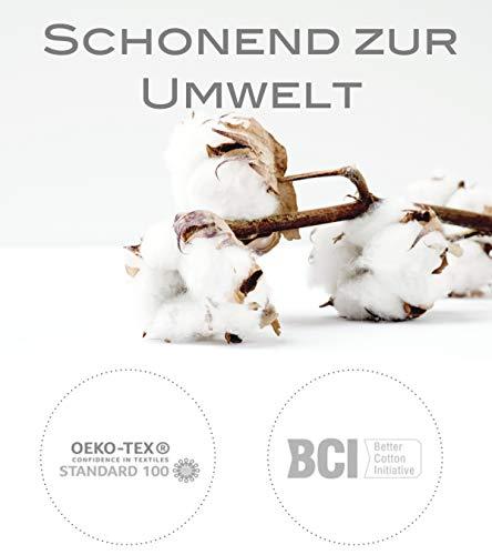 Community Masken 2er Pack Set Unisex Behelfsmaske Wendbar Mundschutz Maske Mund- und Nasenschutz Wendemaske mit Motiv Baumwolle BCI Waschbar - 4