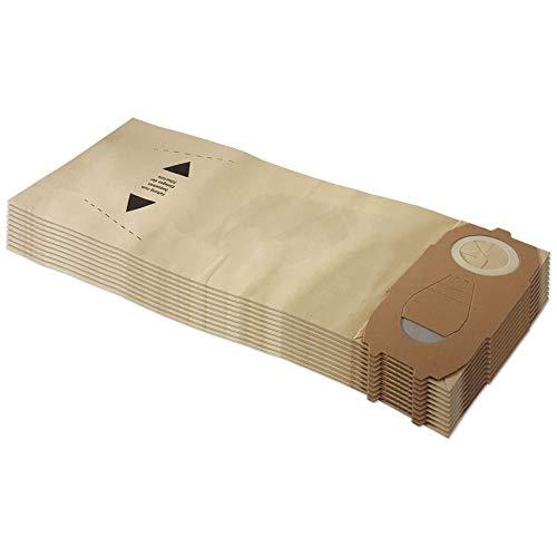 Set 10 sacchetti per aspirapolvere adatti per Vorwerk Folletto VK 118 119 120 121 122 - FP 118-122 - con carta speciale