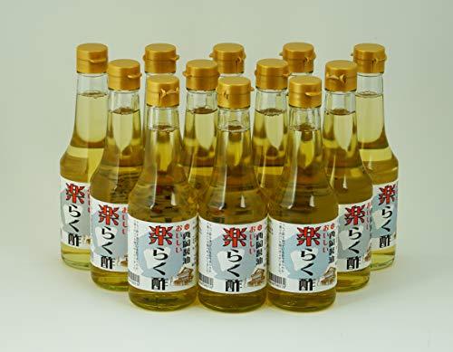 西岡醤油「楽らく酢300ml」12本セット
