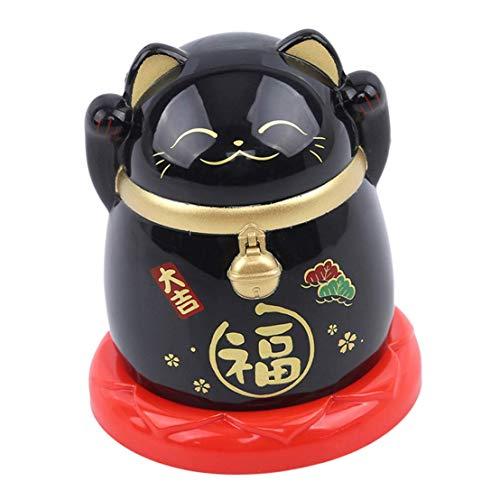 qingqingxiaowu Gadgets Originales Palillero Automatico Organizador de Palillos de Gato de la Suerte De Palillos de Dientes dispensador