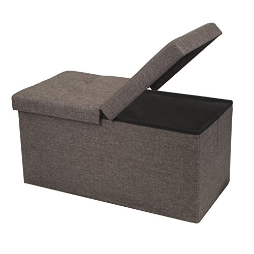 Footrest Ottoman with Storage, Lowest Price in Months $37.4