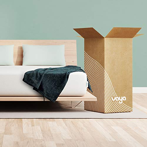 VAYA 12 Inch Adaptive Foam Mattress | Queen Size Bed -...
