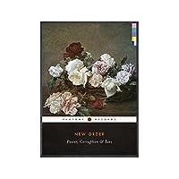 Suuyar ニューオーダーの権力の美学と嘘ペンギンクラシックスの本ポスターアルバム壁アートプリントキャンバスにリビングルーム用-24X32インチX1フレームレス