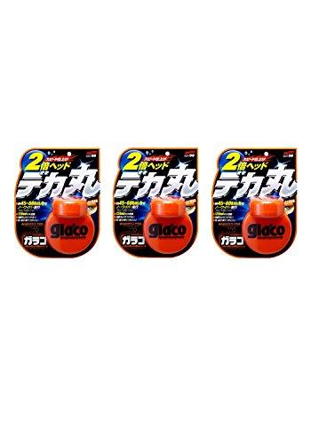 [3個セット] SOFT99 (ソフト99) ウィンドウケア ぬりぬりガラコデカ丸 04107 撥水剤