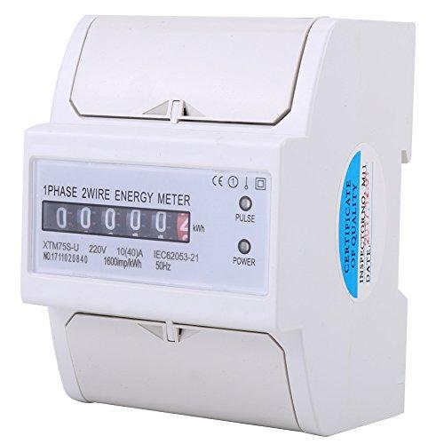 220 V 10-40A kWh Meter Digital Einphasig 4P DIN-Schiene Stromzähler XTM75S-U