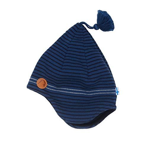 Finkid Tipu Gestreift-Blau, Kinder Accessoires, Größe 52 - Farbe Navy - Denim