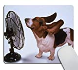 Smooffly Non-Slip Rubber Comfortable Customized Mousepad New Basset Hound Cooling Off PC Computer Mouse pad