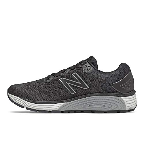 New Balance womens Vaygo V1 Running Shoe, Black/White, 7.5 Wide US