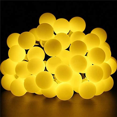GZSC 5 / 10M 20/50 LED buitenverlichting snoer waterdicht zonne-tuin licht string multicolor / warm witte lamp ketting voor Kerstmis