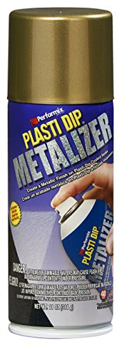 Plasti Dip Sprühfolie Sprühdose Bright Gold Metalizer - 325 ml - Original Performix USA Produkt