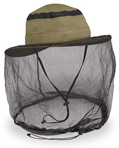 Sunday Afternoons Unisex-Adult Bug-Free Cruiser Net Hat, Dark Khaki, Large