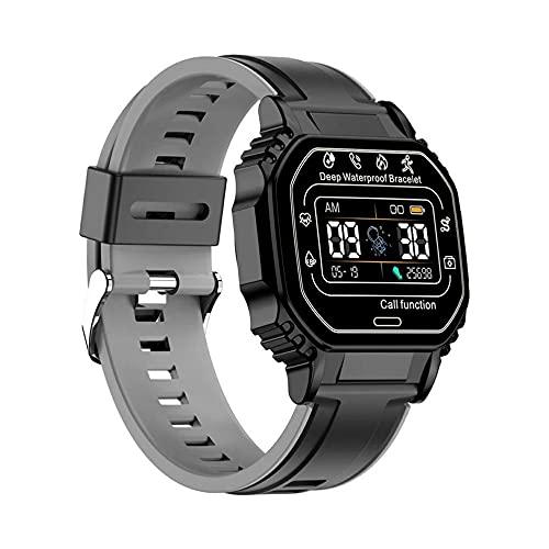 DAMAJIANGM B2 Reloj Inteligente Llamada Reloj multifunción Ejercicio Podómetro Frecuencia cardíaca Pulsera Inteligente Reloj Deportivo Pulsera