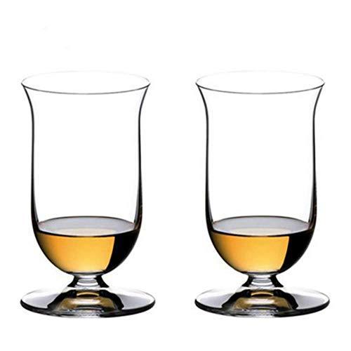 Collezione Sommelier Bicchiere da whisky di cristallo Bicchiere da brandy Bicchieri da degustazione di whisky Bicchieri da liquore Bicchiere da liquore Sherry Bicchiere da vino per bar, 2 pezzi, 200