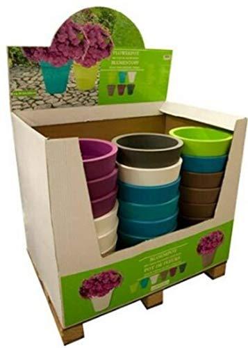 Lifetime Garden Pot de fleur D30H30 cm, Multicolore, 30x30x30 cm