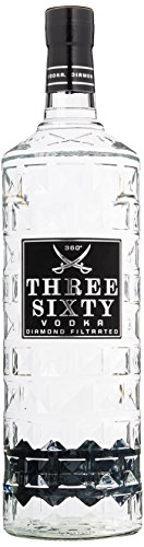 Three Sixty Wodka Großflasche (1 x 3 l)
