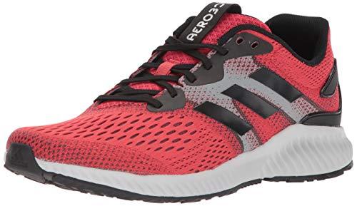 adidas Performance Men's Aerobounce m Running Shoe, Hi-Res Red/Core Black/Core Black, 8.5 M US