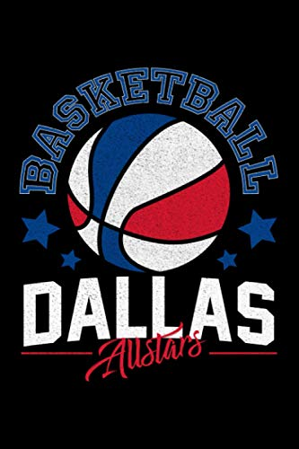 Dallas Basketball: Notebook / Paperback with Dallas Basketball motive -in A5 (6x9in) dotted dot grid