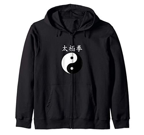 Tai Chi Chuan Yin Yang Harmonie Cadeau d'équilibre naturel Sweat à Capuche