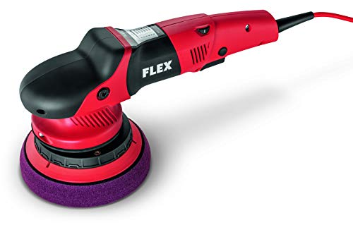 Flex 230/CEE Exzenterpolierer XFE 7-15 150 (Poliermaschine 710 Watt, 15 mm Polierhub, Maße 370x140 mm, ergonomischer Griff, Flacher Getriebekopf) 418080