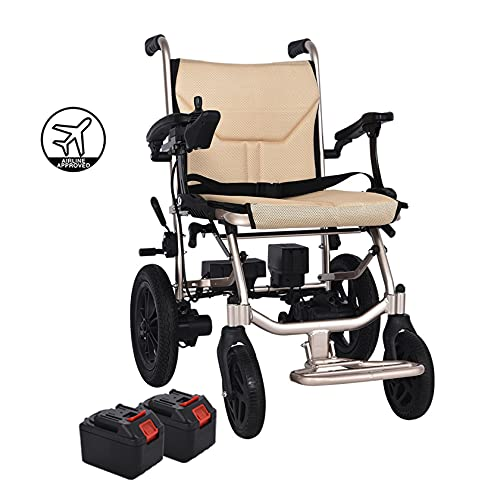 SYN-GUGAI Electric Wheelchairs For Adults Motorised Folding Lightweight...