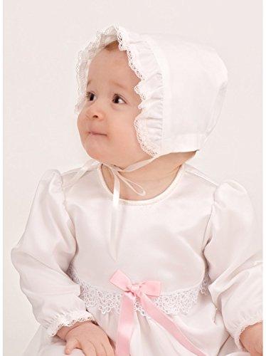 Grace of Sweden - Costume de baptême - Bébé (garçon) 0 à 24 mois blanc cassé Blue bow 80/86, 11-18 month, chest 20,5 in.