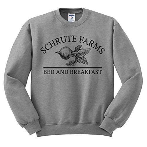 DFGTHRTHRT Schrute Farms Sudadera Dunder Mifflin Camisa The Office Shirt Dwight Schrute...