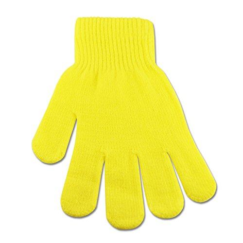 Underground Kulture Gants Hiver Lumineux Jaune (Bright Winter Gloves Yellow)
