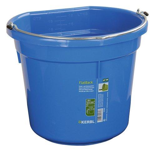 Cubo para agua o comida FlatBack aprox. 20 l, azul