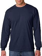 Gildan G540 5.3 Oz. Heavy Cotton Long-Sleeve T-Shirt - Navy - L