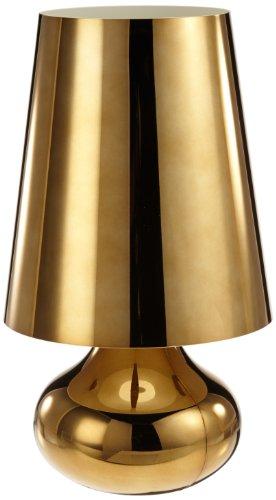 Kartell 9100M2 Cindy - Lamparilla de noche, color dorado oscuro