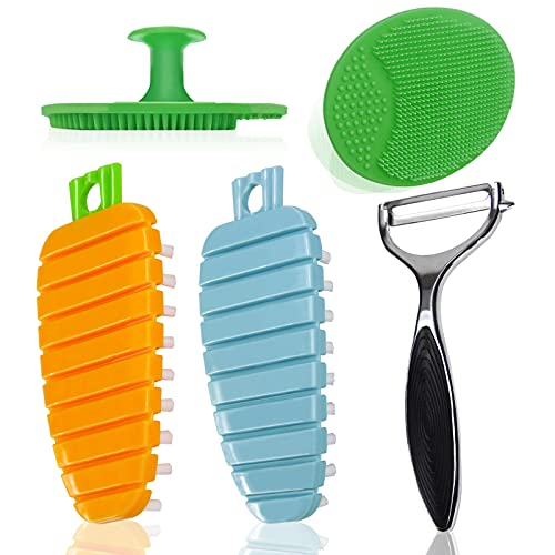 Flexible Vegetable Brush Fruit and Vegetable...