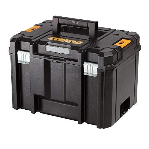 Dewalt DWST1-71195 TSTAK VI Werkzeugkoffer, robust, 23 l, ohne Ablage, Schwarz