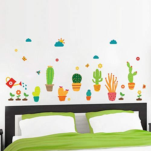 Vioyo 3D-muurstickers voor in de tuin, voor kinderkamer, kinderkamer, raam, kast, keuken, decoratie, bloem, kinderen