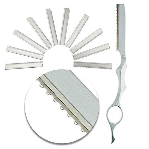 VAGA Set 10 herramientas peluqueros acero inoxidable