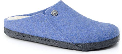 BIRKENSTOCK ZERMATT SHEARLING KIDS SLIM Slipper 2020 light blue, 32