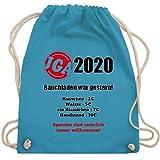Shirtracer JGA Junggesellenabschied - Bauchladen war gestern! 2020 - Unisize - Hellblau - team braut...