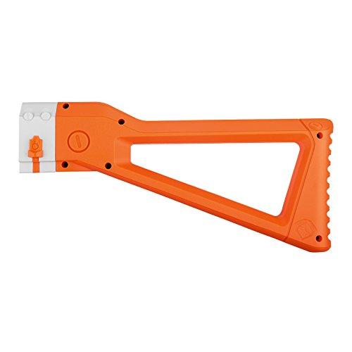 WORKER AK Style Shoulder Stock for nerf N-Strike Elite and Nerf Modulus Series Toy (Orange)