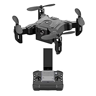 UAMSISTE Drone Mini Folding Unmanned Aerial Veh...