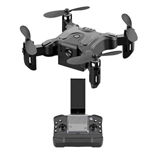 Bascar FPV RC Drohne mit 720/1080P HD Kamera Mini Folding Unbemanntes Luftfahrzeug Pocket Drone Vier Achsen Flugzeug Portable Headless Modus EIN klick Return APP Kontrolle für Anfänger (A)