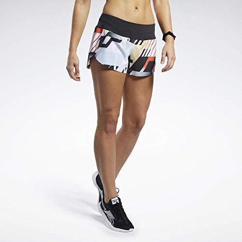 Reebok Rc Knw AMRAP Shorts für Damen, Damen, FJ5318, orange (Vivid Orange), L