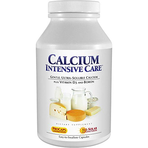 Andrew Lessman Calcium Intensive Care - 180 Capsules - Maintains Healthy Bone and Skeletal Tissues. Vitamin D & Boron. Ultra-Fine, Highly Absorbable Powder in Easy-to-Swallow Capsule. No Additives.