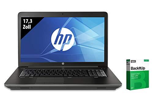 HP ZBook 17 G3 | Notebook | 17,3 Zoll | Intel Core i7-6700HQ @ 2,6 GHz | 32GB RAM | 500GB SSD | Nvidia Quadro M3000M | FHD (1920x1080) | Windows 10 Pro (Zertifiziert und Generalüberholt)
