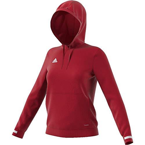 adidas Bluza damska T19 Hoody W czerwony czerwony/biały (power red/White) XL