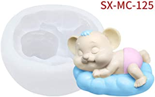 2020 3D Rat Mouse Silicone Candle Soap Mold DIY Cake Decorating Baking Mould