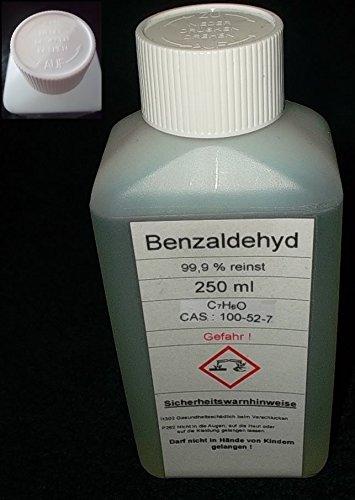 250 ML Benzaldeide \ Benzaldeide 99,9% Bitter Mandorla Aroma