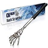 CKolen Teleskop Rückenkratzer Ausziehbarer Rückseitiger Kratzer für Kopf und Rücken Kratzhand...