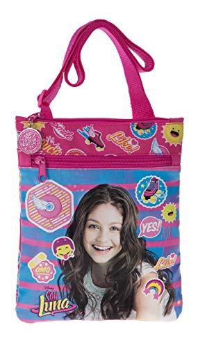 Disney Yo Soy Luna Bolso Bandolera, 0.48 litros, Color Rosa