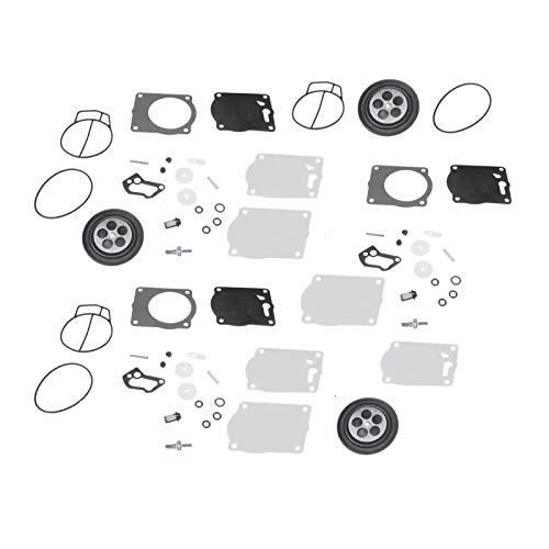 JEM&JULES Carburetor Repair Kit Carb Rebuild Gasket O-Ring Kit 451469 Replacement for Yamaha GP800 1998-2000
